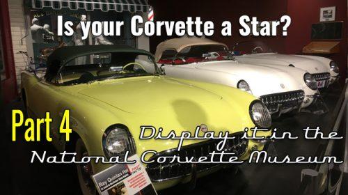 Your Corvette History Part 4- Is your Corvette a STAR?
