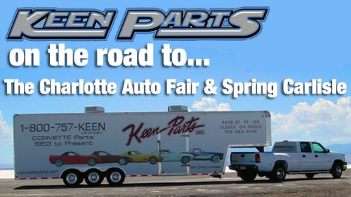 On the Road Again…to the Charlotte Auto Fair and Spring Carlisle