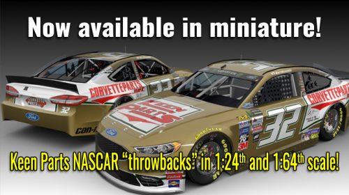 NASCAR Go Fas Racing Matt DiBenedetto Darlington Throwback Die Cast Race Car